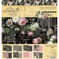 Graphic 45 -paperipakkaus Elegance, 12
