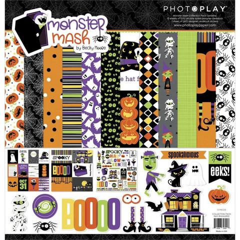 PhotoPlay Monster Mash -paperipakkaus, 12