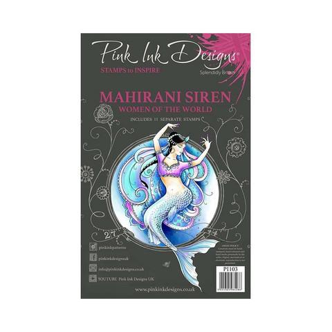 Pink Ink Designs leimasinsetti Mahirani Siren