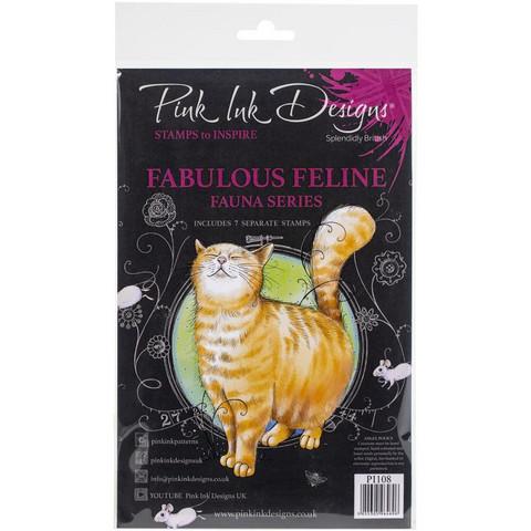 Pink Ink Designs leimasinsetti Fabulous Feline