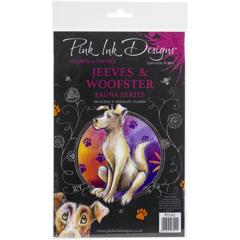 Pink Ink Designs leimasinsetti Jeeves & Woofster