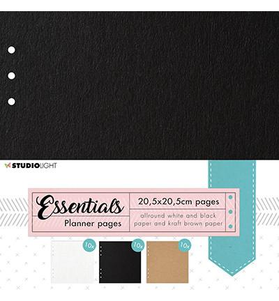 Studio Light Planner Essentials -sivut, 20.5 x 20.5 cm