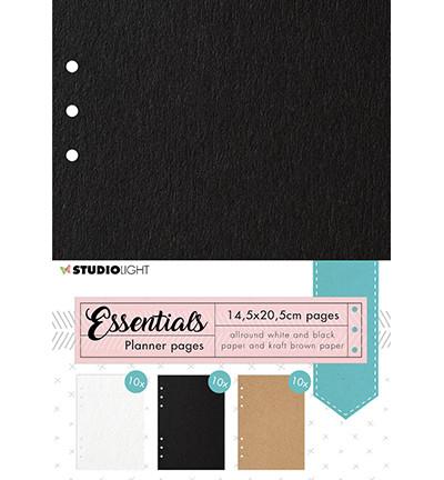 Studio Light Planner Essentials -sivut, 14.5 x 20.5 cm