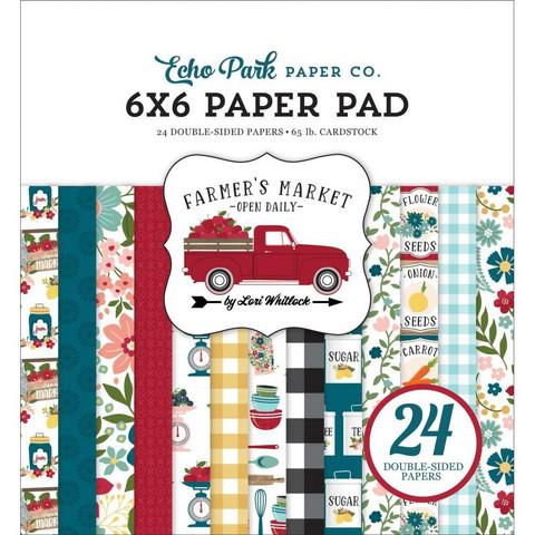 Echo Park Farmer's Market -paperipakkaus