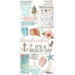 49 and Market Vintage Artistry Beached -Chipboard tarrat