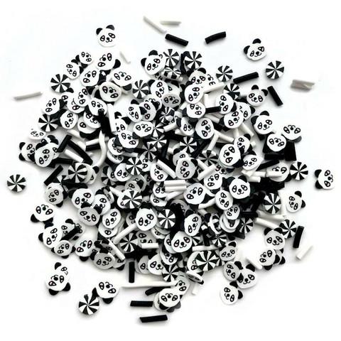 Buttons Galore Sprinkletz -koristeet, Panda