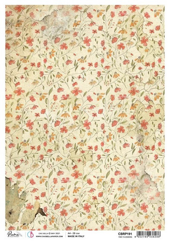 Ciao Bella riisipaperi Tiny flowers