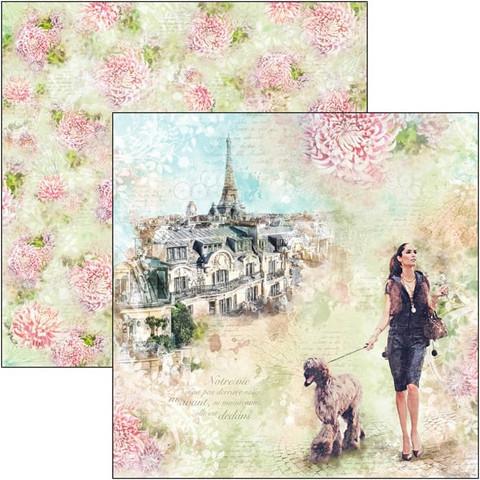 Ciao Bella Notre Vie -skräppipaperi Les Rues de Paris