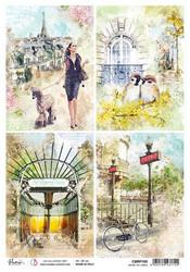 Ciao Bella riisipaperi Notre Vie Cards