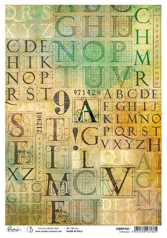 Ciao Bella riisipaperi Typefaces