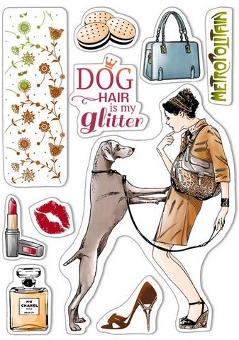Ciao Bella leimasinsetti Dog Air is my Glitter