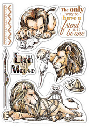 Ciao Bella leimasinsetti The Lion and the Mouse