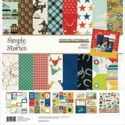 Simple Stories Howdy! -paperipakkaus, 12