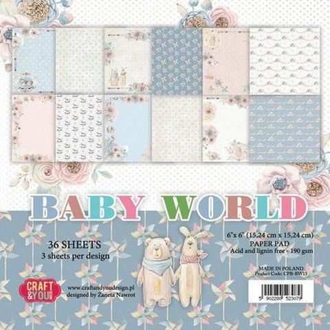 Craft & You paperipakkaus Baby World