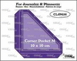 Crealies stanssisetti Corner Pocket M