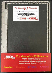 Crealies stanssisetti Journaling Planner Page + Layer Up