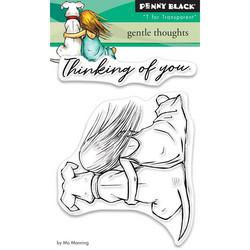 Penny Black Gentle Thoughts -leimasin