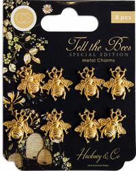 Craft Consortium Tell the Bees -metallikoristeet Beetle