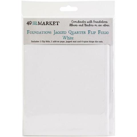 49 and Market Foundations Jagged Quarter Flip Folio -sivut