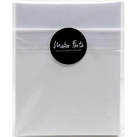 Maker Forte Ultra White 110lb Cover Cardstock -kartonkipakkaus, 4.25