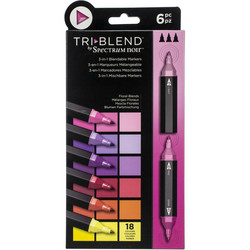 Spectrum Noir TriBlend -tussit, Floral Blends