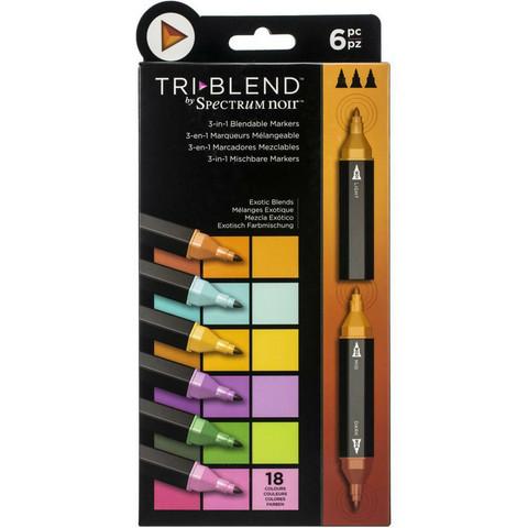 Spectrum Noir TriBlend -tussit, Exotic Blends