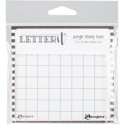 Ranger Letter It Acrylic Stamping Block -akryylipalikka, 4