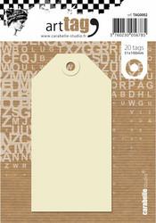 Carabelle Tags, 5.1 x 10 cm, 20 kpl