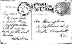 Crafty Individuals leimasin A Vintage Postcard