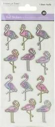 MultiCraft 3D Foiled tarrat Flamingo