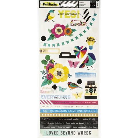 Vicki Boutin tarra-arkit Color Kaleidoscope