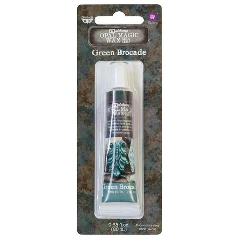 Finnabair Art Alchemy Opal Magic Wax, sävy Green Brocade