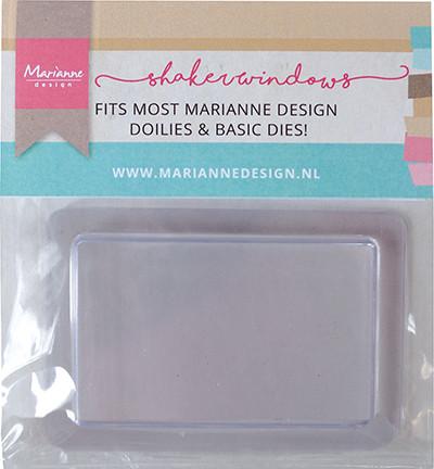 Marianne Design Shaker kuvut, suorakaide, 10 kpl