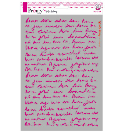 Pronty sapluuna Text, A4