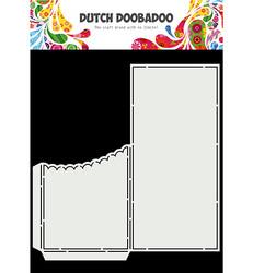 Dutch Doobadoo Slimline Scallop Pocket -sapluuna