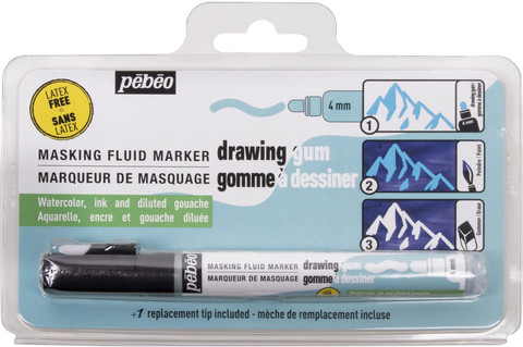 Pebeo Drawing Gum Marker 4mm -maskitussi