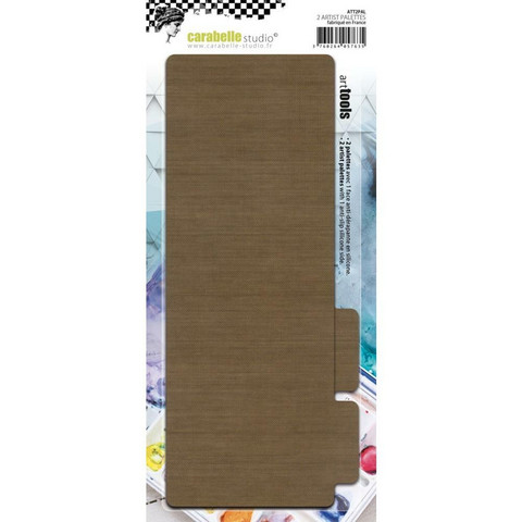 Carabelle Non-Stick Craft Palettes -askartelualustat, 2 kpl