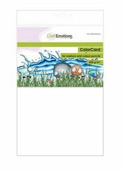 CraftEmotions ColorCard -paperipakkaus, A5