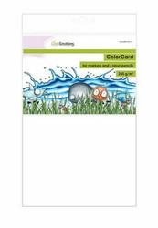 CraftEmotions ColorCard -paperipakkaus, A4