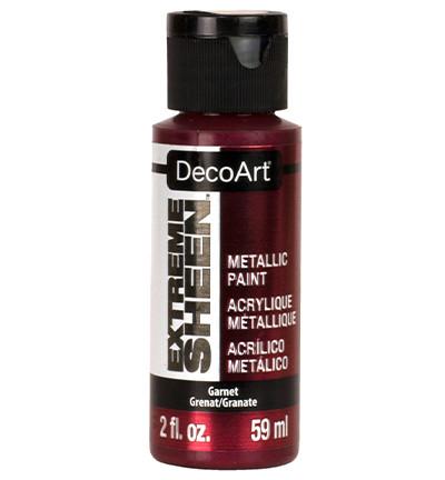 DecoArt Extreme Sheen Metallics -maali, sävy Garnet