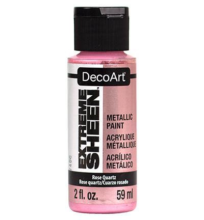 DecoArt Extreme Sheen Metallics -maali, sävy Rose Quartz