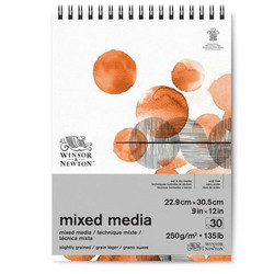 Winsor & Newton Mixed Media -paperipakkaus, 9