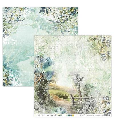 Studio Light skräppipaperi Jenine's Mindful Art, New Awakening