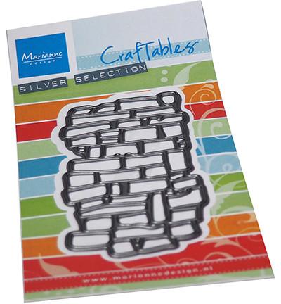 Marianne Design Art Texture Bricks -stanssi