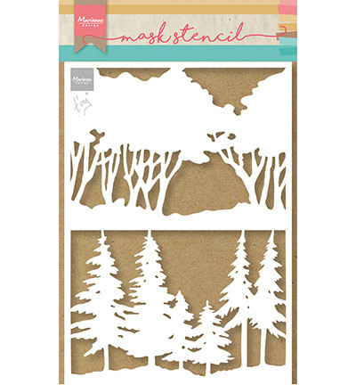 Marianne Design sapluuna Tiny's Forest