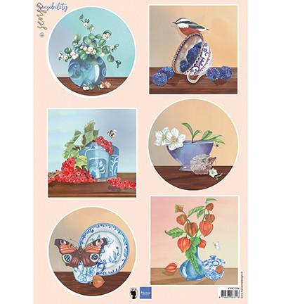 Marianne Design korttikuvat Sensibility Berries