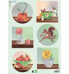 Marianne Design korttikuvat Sensibility Autumn