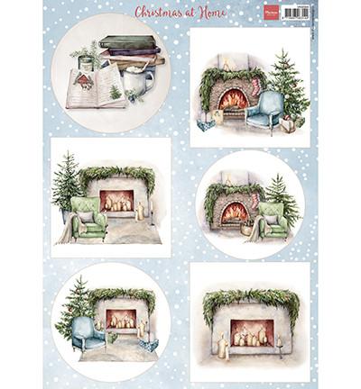 Marianne Design korttikuvat Christmas at Home