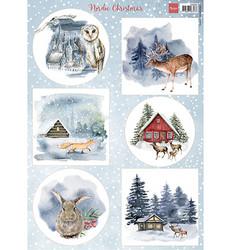Marianne Design korttikuvat Nordic Christmas