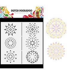Dutch Doobadoo Slimline Mandalas -sapluuna